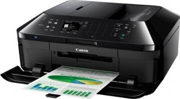 Canon Pixma MX925 All-in-One Farbtintenstrahl-Multifunktionsgerät (Drucker, Scanner, Kopierer, Fax, USB, WLAN, LAN, Apple AirPrint) schwarz - 3