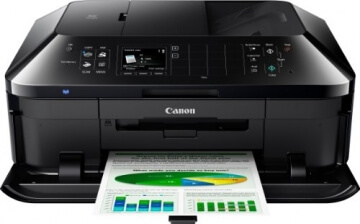 Canon Pixma MX925 All-in-One Farbtintenstrahl-Multifunktionsgerät (Drucker, Scanner, Kopierer, Fax, USB, WLAN, LAN, Apple AirPrint) schwarz - 5