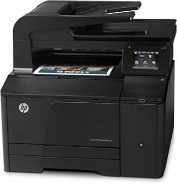 HP LaserJet Pro 200 M276nw e-All-in-One Farblaser Multifunktionsdrucker (A4, Drucker, Scanner, Kopierer, Wlan, Ethernet, USB, 600x600) - 3