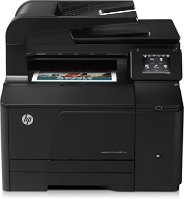HP LaserJet Pro 200 M276nw e-All-in-One Farblaser Multifunktionsdrucker (A4, Drucker, Scanner, Kopierer, Wlan, Ethernet, USB, 600x600) - 4