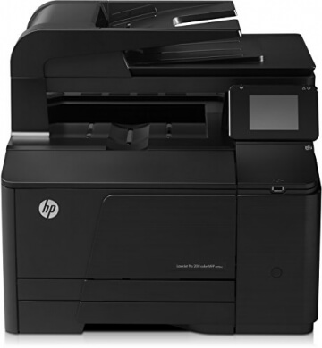 HP LaserJet Pro 200 M276nw e-All-in-One Farblaser Multifunktionsdrucker (A4, Drucker, Scanner, Kopierer, Wlan, Ethernet, USB, 600x600) - 1