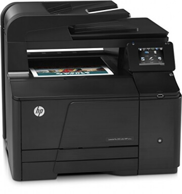 HP LaserJet Pro 200 M276nw e-All-in-One Farblaser Multifunktionsdrucker (A4, Drucker, Scanner, Kopierer, Wlan, Ethernet, USB, 600x600) - 5