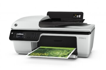 HP Officejet 2620 All-in-One Multifunktionsgerät (Scanner, Kopierer, Drucker, Fax, USB 2.0) weiß/schwarz - 4