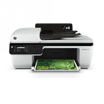 HP Officejet 2620 All-in-One Multifunktionsgerät (Scanner, Kopierer, Drucker, Fax, USB 2.0) weiß/schwarz - 1