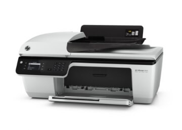HP Officejet 2620 All-in-One Multifunktionsgerät (Scanner, Kopierer, Drucker, Fax, USB 2.0) weiß/schwarz - 5
