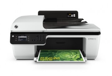 HP Officejet 2620 All-in-One Multifunktionsgerät (Scanner, Kopierer, Drucker, Fax, USB 2.0) weiß/schwarz - 6