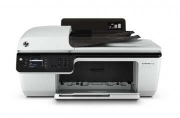 HP Officejet 2620 All-in-One Multifunktionsgerät (Scanner, Kopierer, Drucker, Fax, USB 2.0) weiß/schwarz - 7