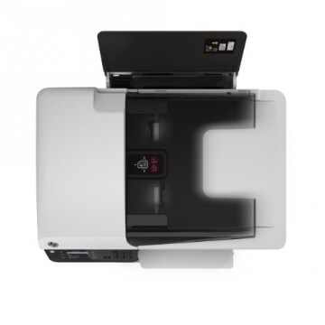 HP Officejet 2620 All-in-One Multifunktionsgerät (Scanner, Kopierer, Drucker, Fax, USB 2.0) weiß/schwarz - 8