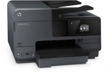 HP Officejet Pro 8610 All-in-One Multifunktionsdrucker (A4, Drucker, Kopierer, Scanner, Fax, Wlan, Duplex, USB, 4800 x 1200) schwarz - 3