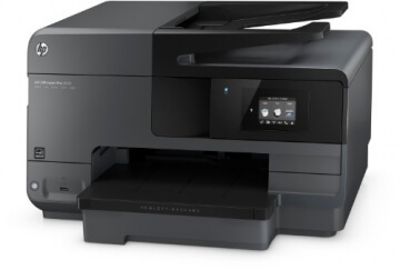 HP Officejet Pro 8610 All-in-One Multifunktionsdrucker (A4, Drucker, Kopierer, Scanner, Fax, Wlan, Duplex, USB, 4800 x 1200) schwarz - 4